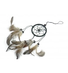 Dreamcatcher nero - ideale specchietto retrovisore !