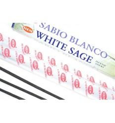 Incense, Sage, White. Lot of 100 sticks brand HEM