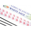 Incenso, Salvia, Bianco. Lotto di 100 bastoncini marca HEM