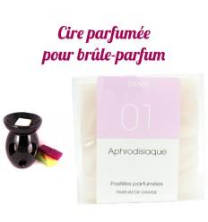 """Pastilles de cire parfumée, senteur """"Aphrodisiaque"""" par Drake"""