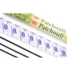 Encens parfum Patchouli Lot de 100 bâtons marque HEM