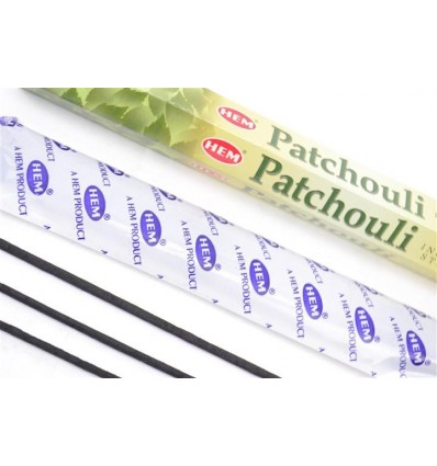Incenso Patchouli. Lotto di 100 bastoncini Marca HEM