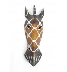 Maschera da Zebra in legno 30cm etnica decorazione.