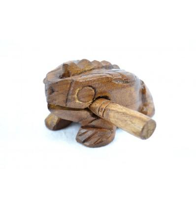 Grenouille musicale en bois - Instrument de musique.