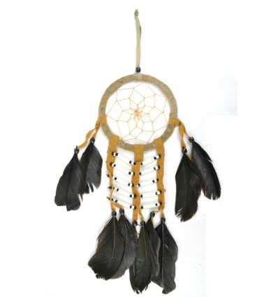 Catcher sogno indiano tradizionale stile 40x18cm beige