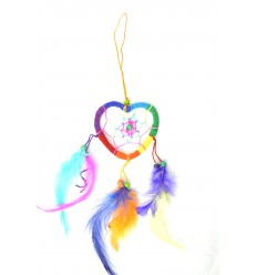 Gigante dream catcher: a multi-colorati a forma di Cuore perfetto specchietto retrovisore !