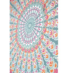 Bali Sarong 170x115cm beach pareo, large scarf, or textile decoration.