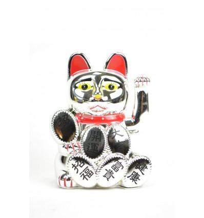 Maneki neko / Cat japanese silver - lucky