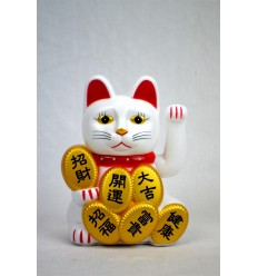 Maneki neko / Gatto giapponese bianchi fortunato