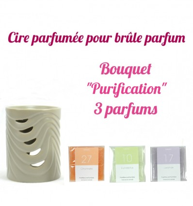 "Pastilles de cire parfumée, Bouquet ""Purification"" 3 parfums - Drake"