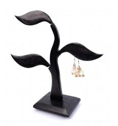 Albero di monili di stoccaggio orecchini originali e non costoso.