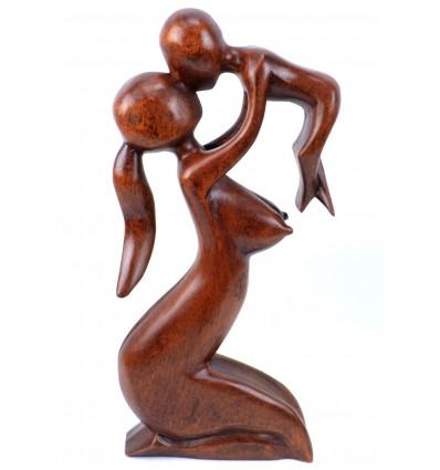 Statua di maternità mamma baby, idea regalo nascita originale.