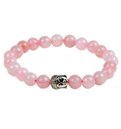 Bracelet rose quartz natural. Purchase cheap, free shipping.