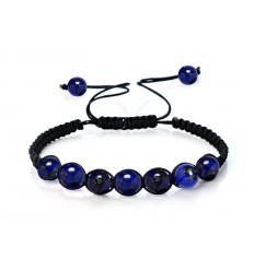 Shamballa Bracelet Lapis lazuli : free delivery !!!
