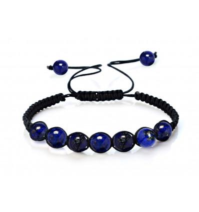Bracelet Shamballa Lapis lazuli : livraison offerte !!!