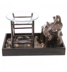 Brule profumo, l'Elefante, il giardino in stile Zen.