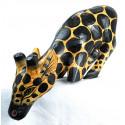 Statue girafe bord étagère. Décoration animaux rigolo originaux.