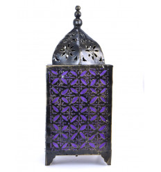 Lamp moroccan iron wrought cheap. Decor oriental room.