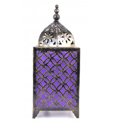 Lamp oriental wrought iron cheap. Moroccan decor craft.