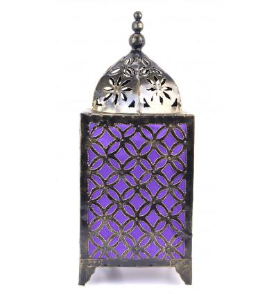 Lampe orientale fer forgé pas cher. Décoration marocaine artisanale.