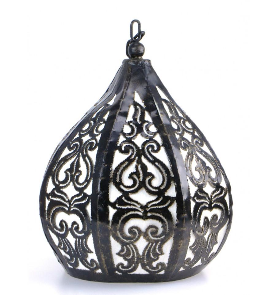 Lustre suspension en fer forg d co chambre marocaine for Suspension en fer