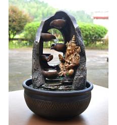Large indoor fountain Mystic Ganesh 40cm + Led lighting
