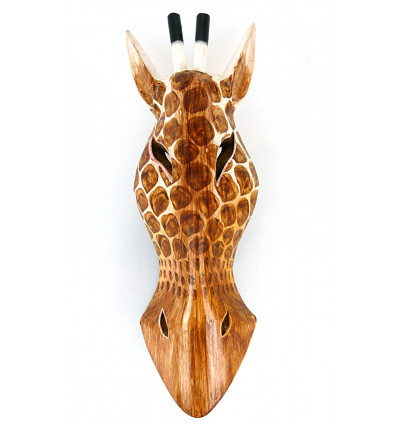 Trophy Giraffe, african mask object deco original collection.