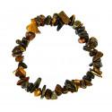 Bracelet baroque oeil de tigre, achat pas cher, livraison gratuite.