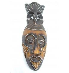 Maschera africana in legno economici 30cm artigianali.