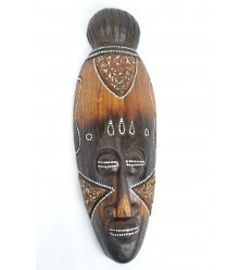 African mask in wood 30cm decor ethnic african.