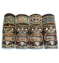 Etnica decorazione maschera Maori a buon mercato, di vendita online.