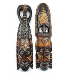 Artigianato africano online. Comprare maschera africana sul mercato. Di importazione.
