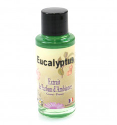 Perfume extract eucalyptus to a diffuser, origin Grasse, France.
