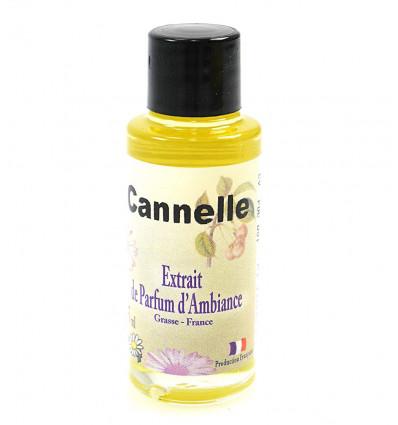 Extrait de parfum pour diffuseur, senteur cannelle Grasse France.
