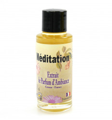 Perfume extract meditation to spread, yoga relaxation and well being.