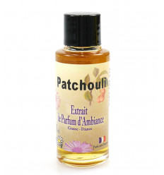 Perfume extract patchouli to the dissemination of French manufacture Fat.