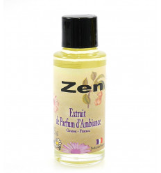Perfume extract of zen ambiance to the dissemination of perfume Grasse, France.