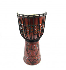 Buy djembe drum professional tam-tam percussion artisan cheap.