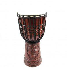 Achat djembé professionnel tam-tam percussion artisanale pas cher.