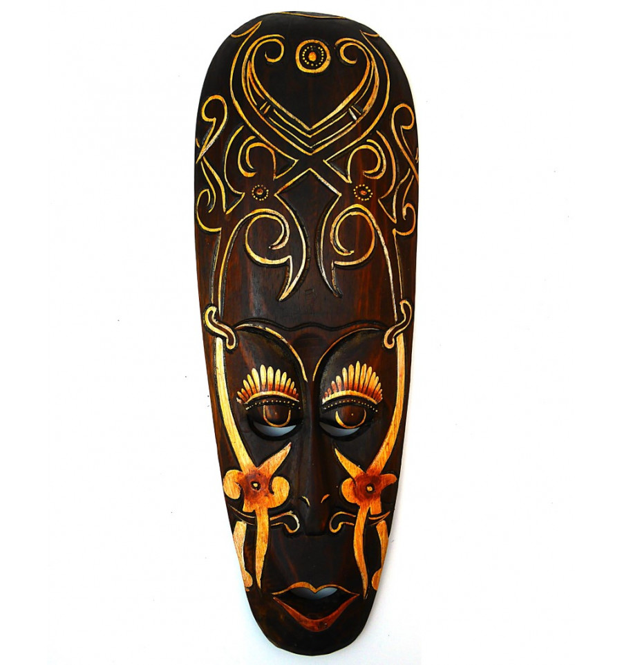 masque africain achat pas cher d coration murale ethnique. Black Bedroom Furniture Sets. Home Design Ideas