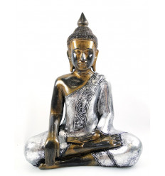 Buddha Statue Thai h40cm resin artisanal finish.