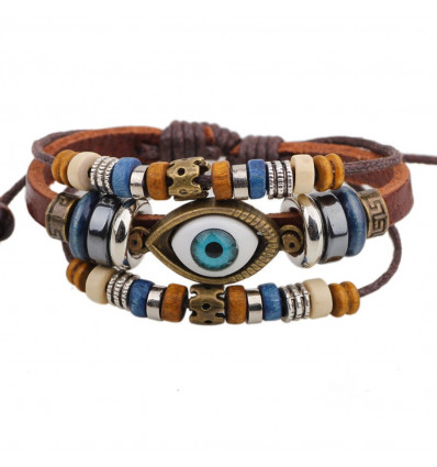 bracelet homme protection contre le mauvais oeil porte. Black Bedroom Furniture Sets. Home Design Ideas