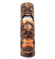 Maschera in legno massello h50cm. Artigianali