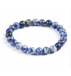 Bracelet Lithothérapie en Sodalite - Confiance et sérénité