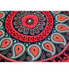 Tenture Mandala 170x115cm / paréo de plage, foulard, sarong...