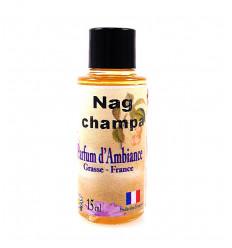 Extrait de parfum nag champa à diffuser, fabrication française Grasse.