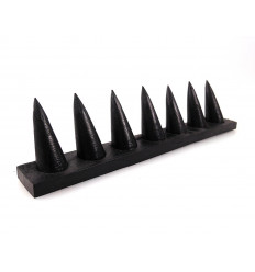 Display rings / wooden stand black