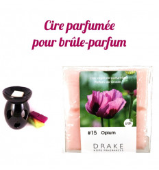 Environment perfume opium by Drake, vegetable wax scented, purchase.