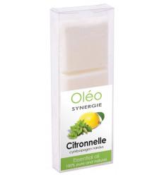 Cire végétale parfumée à l'huile essentielle de citronnelle Drake.