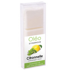 Cera vegetale profumato con olio essenziale di citronella Drake.
